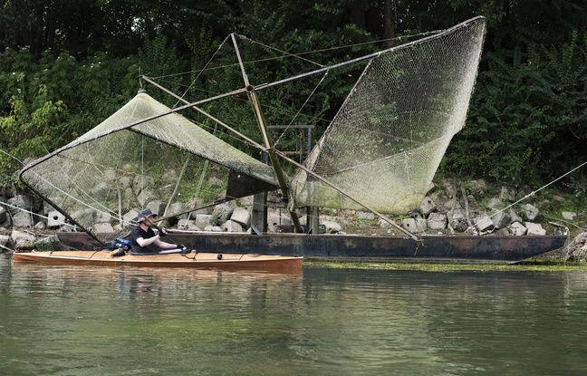 Les kayaks ont suivi le parcours de migration de la grande alose.
