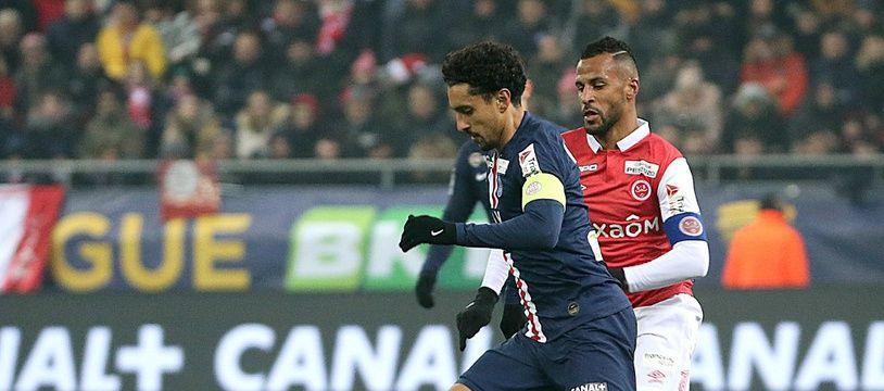 Marquinhos espère être sur pied face au Borussia Dortmund.