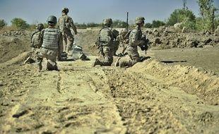 Des soldats américains à Panjway en Afghanistan, le 21 septembre 2012