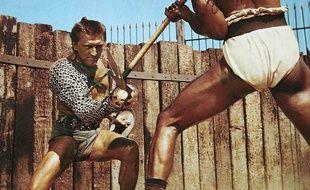 Kirk Douglas en Spartacus.