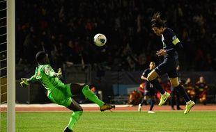 Au tour précédent, Edinson Cavani et le PSG avaient battu le club francilien de Linas-Montlhery.