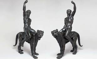 «Bacchants chevauchant des panthères» pourraient être l'œuvre de Michel-Ange.
