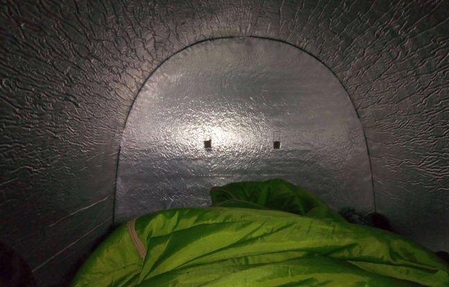 L'isolation de l'abri permet de gagner 15 degrés par rapport à la température extérieure.