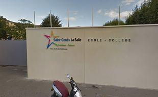 Le collège Saint-Genès se trouve à Talence.