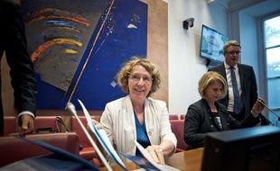 Audition de  la ministre du Travail Muriel Pénicaud sur la réforme du code du travail, par la commission des Affaires sociales à l'Assemblée nationale, Paris, le 4 Juillet 2017.