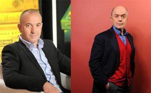 Philippe Claudel et Pierre Assouline.