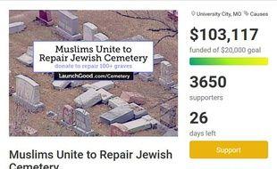 La campagne a déjà récolté plus de 100.000 dollars.