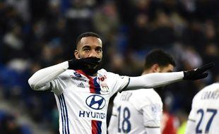 Alexandre Lacazette a inscrit, ce mercredi sur penalty, son 19e but de la saison en Ligue 1.