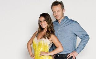 Sinclair et Denitsa Ikonomova, partenaires dans la saison 8 de «Danse avec les stars».
