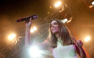 Jenifer en concert à Angers, en juillet 2016.