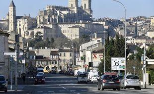 Une vue de la ville d'Auch et sa célèbre cathédrale. (archives)