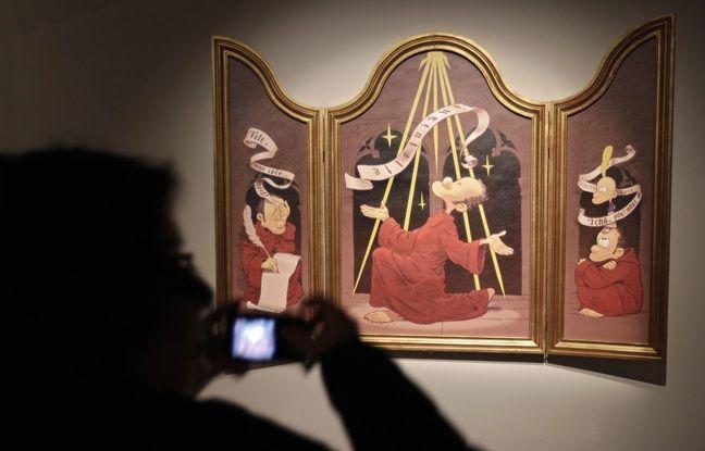 Le dessinateur Zep est l'invité de l'Open museum du Palais des Beaux-arts de Lille.