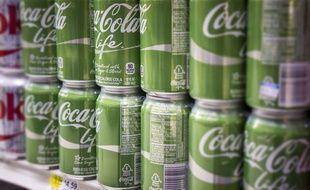 Le Coca Cola Life est sorti début janvier 2015.