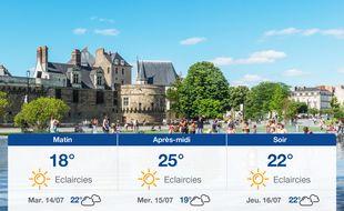 Météo Nantes: Prévisions du lundi 13 juillet 2020