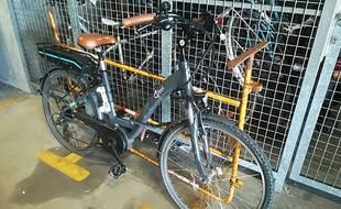 La police de Loire-Atlantique a saisi ce vélo volé.