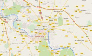 Dammarie-les-Lys, en Seine-et-Marne.