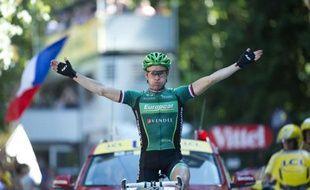 Le Français Thomas Voeckler (Europcar) a remporté la 16e étape du Tour de France, mercredi, à Luchon, après une longue échappée dans les grands cols pyrénéens.