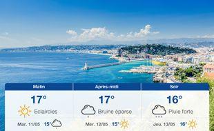 Météo Nice: Prévisions du lundi 10 mai 2021