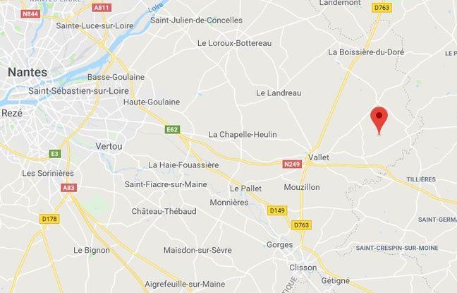 L'accident s'est produit dans la commune de la Regrippière.