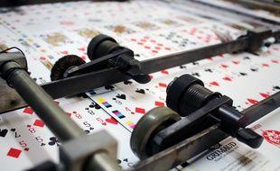 Grand Est: Cartamundi à Saint-Max, la seule imprimerie de France à fabriquer des cartes à jouer et cartes de jeux.
