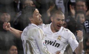 Coup de vieux: Benzema et Ozil, en 2012