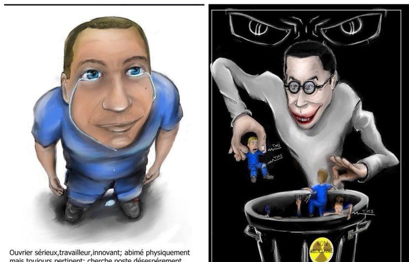 Airbus : Licencié pour des caricatures, un salarié nantais gagne aux prud'hommes