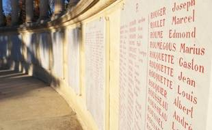 L'actuel monument aux morts de Montpellier.
