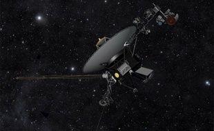 La sonde Voyager 1 a été lancée en 1977 (vue d'artiste).