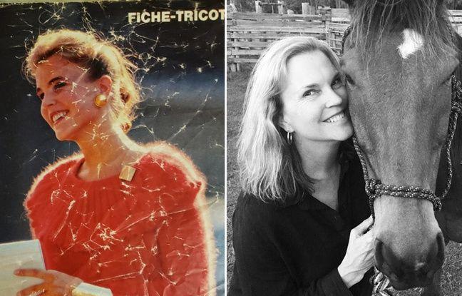 Lisa Gattis dans les années 1980 et en 2019.