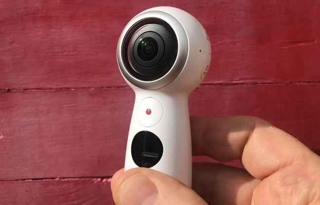 Il est possible de déclencher la Gear 360 à la main ou à distance, depuis un smartphone.