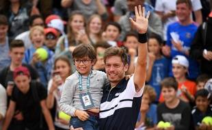 A 37 ans, Nicolas Mahut s'est qualifié pour la première fois de sa carrière pour le troisième tour de Roland-Garros, le 29 mai 2019.