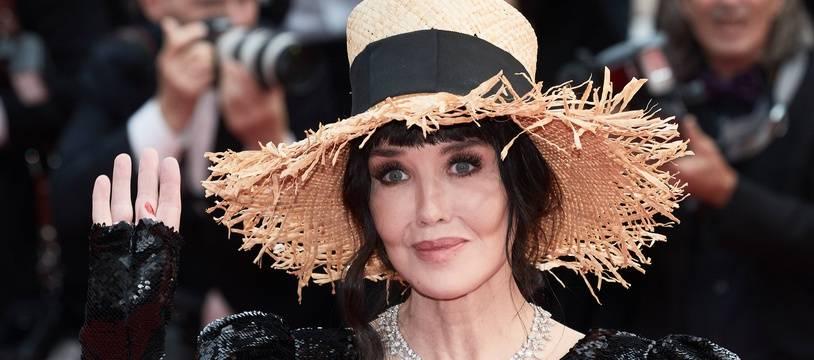 Isabelle Adjani, actrice, sur le tapis rouge à Cannes le 20 mai 2019