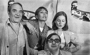 Chabrol, fidèle à Audran et Huppert (1978).