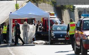 Marseille le 5 septembre 2013 - Adrien ANIGO fils de l'ex-directeur sportif de l'OM a été tué
