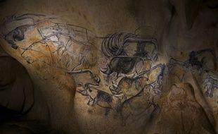 Des lions, des rhinocéros, des aurochs, la grotte abrite une faune variée et majestueuse.