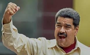 Le président vénézuélien, Nicolas Maduro, à Caracas le 19 avril 2016