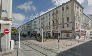 La rue de Siam, à Brest.