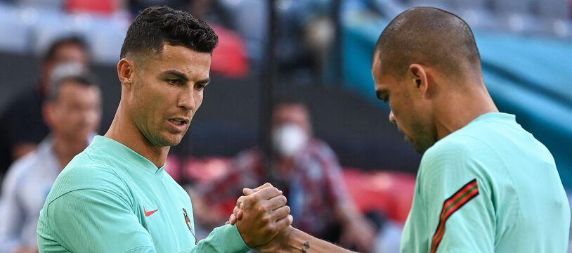Cristiano Ronaldo, Pepe et le Portugal sont prêts au bras de fer avec l'Allemagne.