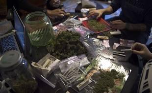 Le groupe DC Marijuana Coalition a distribué des joints à Washington le jour de l'investiture de Donald Trump