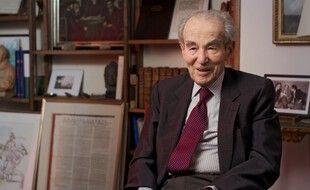 L'ancien avocat et garde des Sceaux, Robert Badinter, qui a permis l'abolition de la peine de mort en France, le 30 septembre 1981.