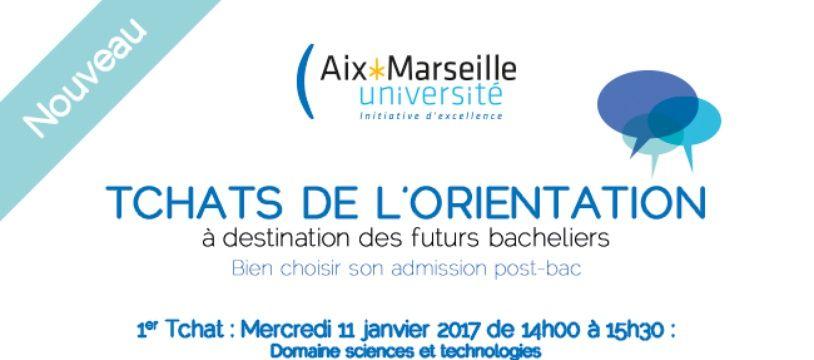 Illustration du tchat du SUIO Aix-Marseille Université
