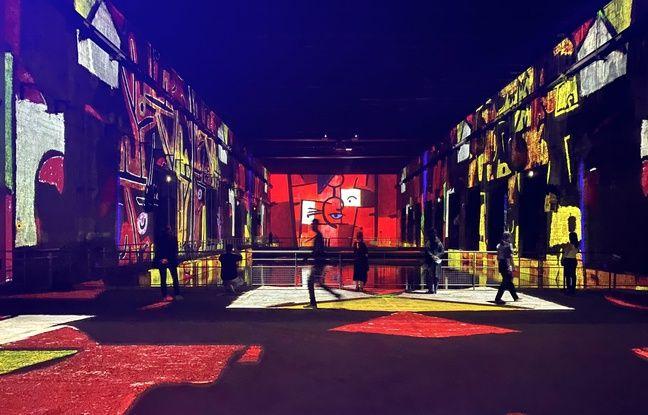 La deuxième grande exposition des Bassins de Lumières à la base sous-marine de Bordeaux, est consacrée au peintre Paul Klee.