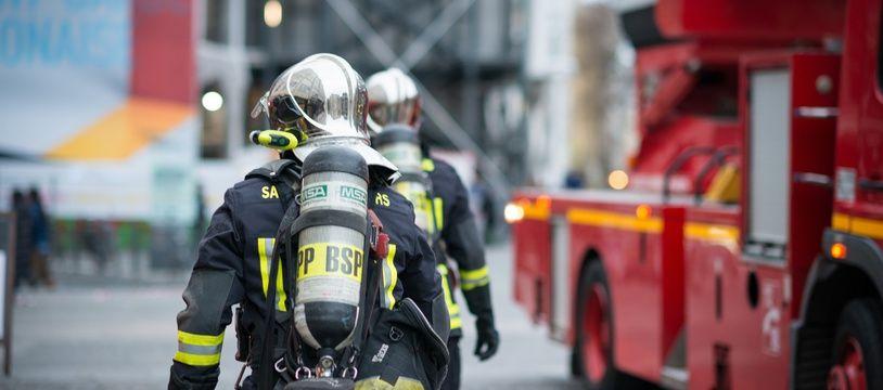 Des sapeurs-pompiers en janvier 2019 (illustration).