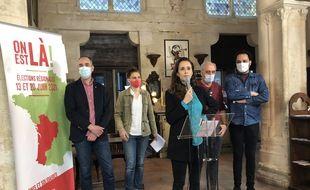 Clémence Guetté, 29 ans, conduit la liste LFI/NPA aux Régionales, en Nouvelle Aquitaine.