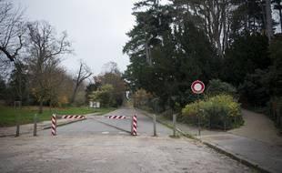 Le bois de Boulogne à Paris. (Illustration)