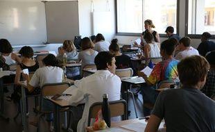 Au lycée Jules Guesde de Montpellier en juin 2019.
