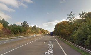L'autoroute A21 où a eu lieu l'accident.