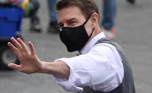 L'acteur Tom Cruise, à Rome, sur le tournage de «Mission: Impossible 7»