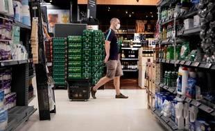 Image d'illustration d'un supermarché.