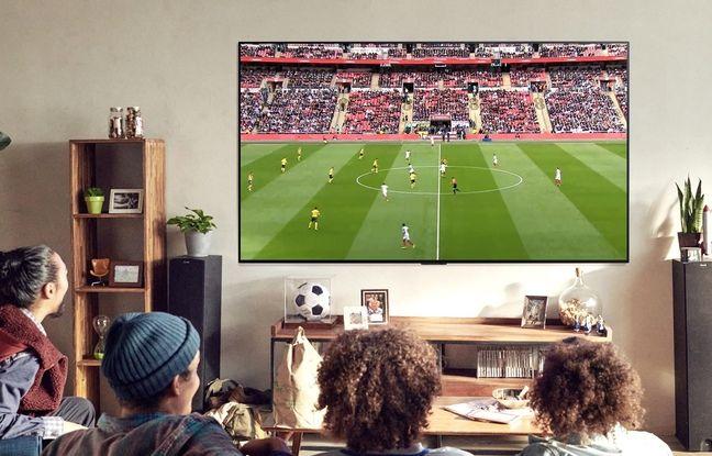 Pas de problèmes d'angle de vision avec les téléviseurs OLED.